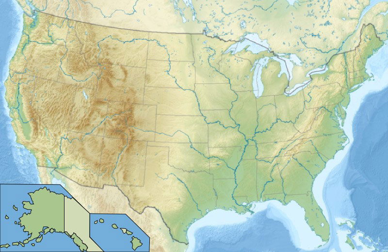 Cartina Fisico Politica Degli Stati Uniti.Cartina Usa Fisica